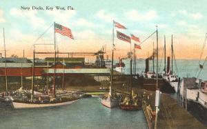 Navy Docks, Key West, Florida