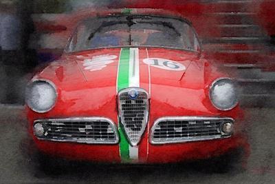 Poster Print Art A0 A1 A2 A3 CAR POSTER AC600 ALFA ROMEO 8C SPIDER CAR 2