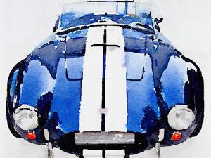 1962 AC Cobra Shelby Watercolor by NaxArt