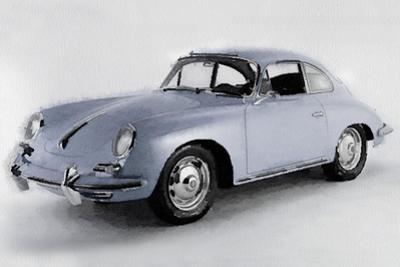1964 Porsche 356B Watercolor by NaxArt