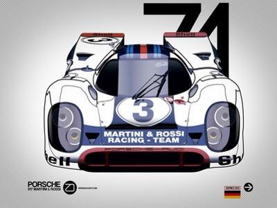 1971 Porsche 917 by NaxArt