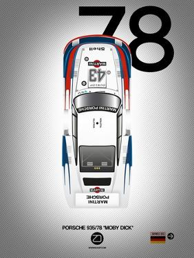 "1978 Porsche 935/78 ""Moby Dick"" by NaxArt"