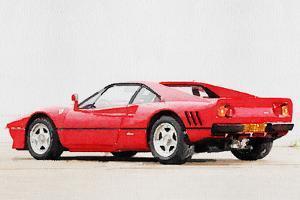 1980 Ferrari 288 GTO Watercolor by NaxArt