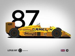 1987 Lotus 99T by NaxArt