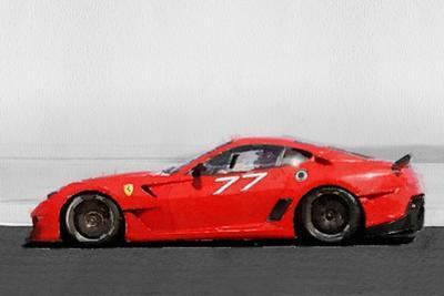2006 Ferrari 599 GTB Fiorano Watercolor by NaxArt