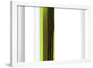 Abstract Green on White by NaxArt