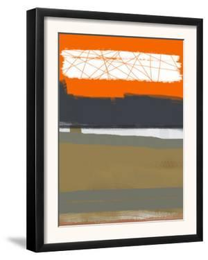 Abstract Orange 1 by NaxArt