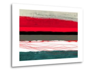 Abstract Stripe Theme Red Grey and White by NaxArt