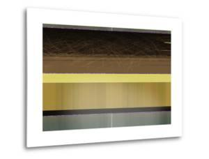 Abstract Yellow and Brown Parallels by NaxArt