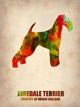 Airedale Terrier Poster by NaxArt