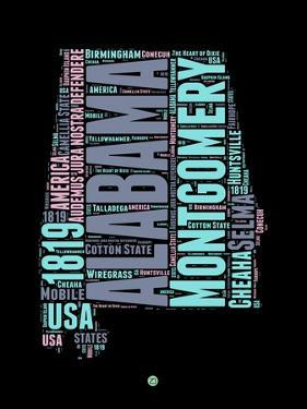 Alabama Word Cloud 1 by NaxArt