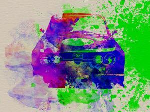 Alfa Romeo Front Watercolor 1 by NaxArt