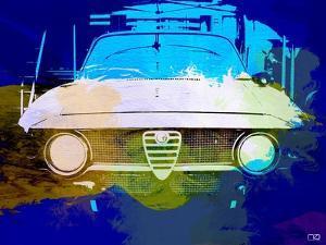Alfa Romeo Watercolor by NaxArt