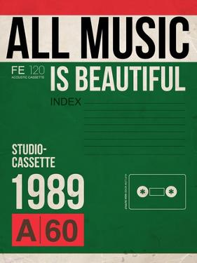 All Music is Beautiful by NaxArt