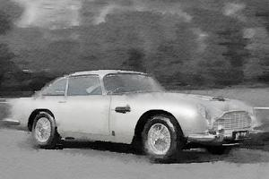 Aston Martin DB5 Watercolor by NaxArt