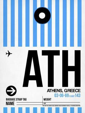 ATH Athens Luggage Tag 1 by NaxArt