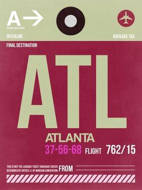 ATL Atlanta Luggage Tag 2 by NaxArt
