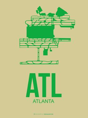 Atl Atlanta Poster 1 by NaxArt