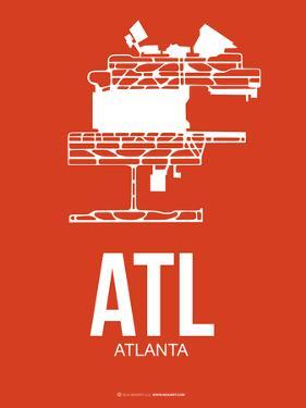 Atl Atlanta Poster 3 by NaxArt