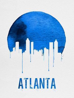 Atlanta Skyline Blue by NaxArt