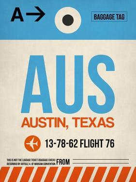 AUS Austin Luggage Tag I by NaxArt