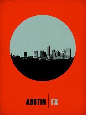 Austin Circle Poster 2 by NaxArt