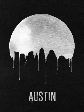 Austin Skyline Black by NaxArt