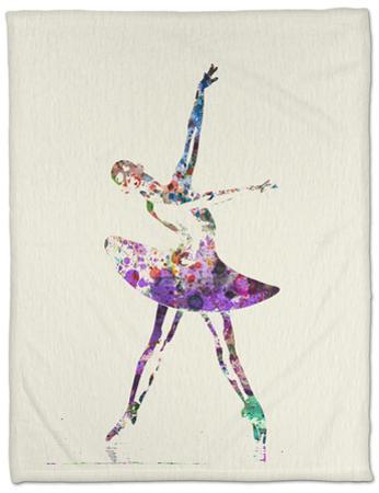 Ballerina Watercolor 4 by NaxArt
