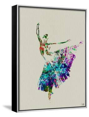 Ballerina Watercolor 5 by NaxArt
