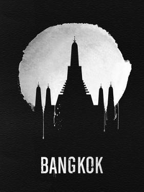 Bangkok Landmark Black by NaxArt