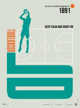 Basketball Poster by NaxArt