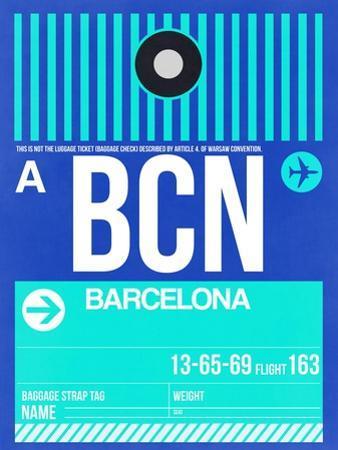 BCN Barcelona Luggage Tag 2 by NaxArt