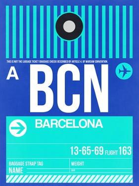 BCN Barcelona Luggage Tag 2 by NaxArt