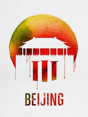 Beijing Landmark Red by NaxArt