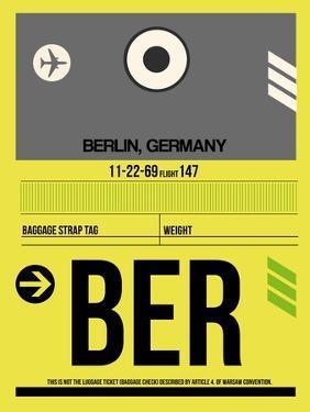 BER Berlin Luggage Tag 1 by NaxArt