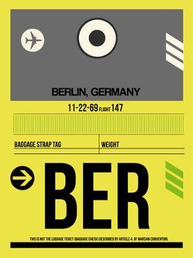BER Berlin Luggage Tag 1 by NaxArt