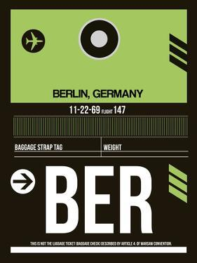 BER Berlin Luggage Tag 2 by NaxArt