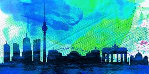 Berlin City Skyline by NaxArt