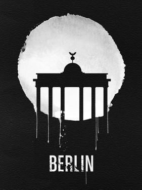 Berlin Landmark Black by NaxArt