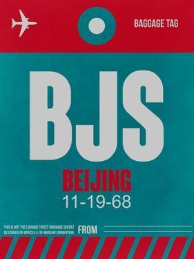 BJS Beijing Luggage Tag 1 by NaxArt