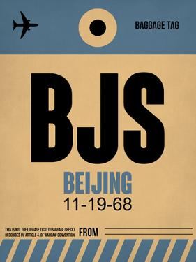 BJS Beijing Luggage Tag 2 by NaxArt