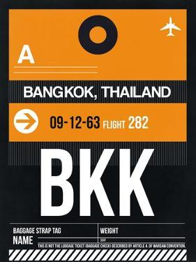 BKK Bangkok Luggage Tag I by NaxArt