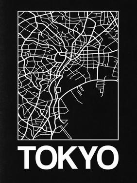 Black Map of Tokyo by NaxArt