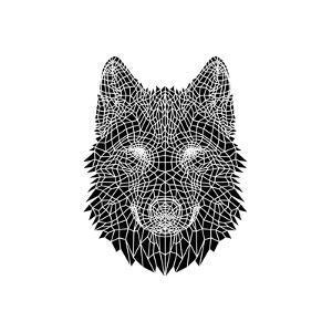 Black Woolf Head Mesh by NaxArt