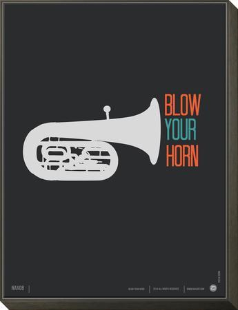 Blow Your Horn Poster by NaxArt