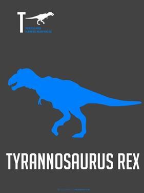 Blue Dinosaur by NaxArt
