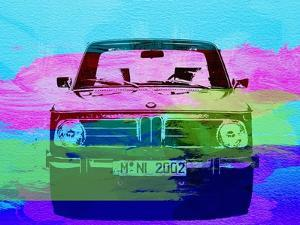 Bmw 2002 Front Watercolor 1 by NaxArt