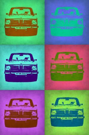 BMW 2002 Pop Art 2 by NaxArt