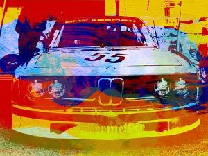 Bmw Racing Watercolor by NaxArt