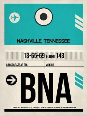 BNA Nashville Luggage Tag II by NaxArt